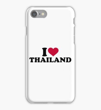 I love Thailand iPhone Case/Skin