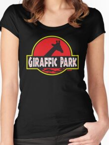 Giraffic Park Women's Fitted Scoop T-Shirt