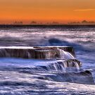 Time and Tide, Maroubra, Australia by Erik Schlogl