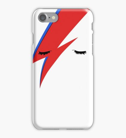 BOWIE CLOSE UP iPhone Case/Skin