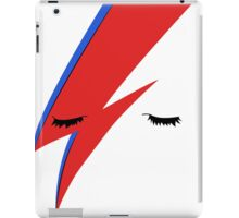 BOWIE CLOSE UP iPad Case/Skin