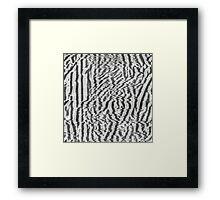 analog generated glitch #3 Framed Print
