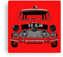 classic mini cooper  Canvas Print