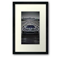 koeniggsegg  Framed Print