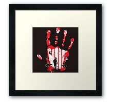 The Walking Dead Zombies Framed Print