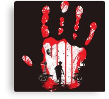 The Walking Dead Zombies Canvas Print