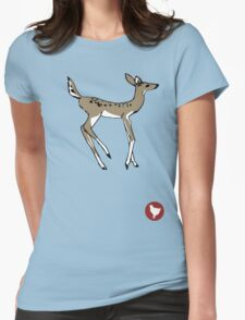 Max Caulfield - Doe & Badge Womens Fitted T-Shirt