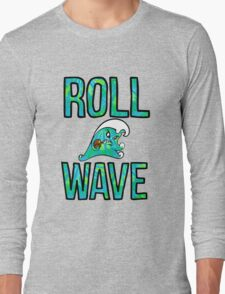 Roll Wave Tie Dye Long Sleeve T-Shirt