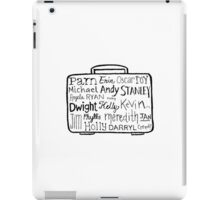 Office Work iPad Case/Skin