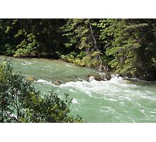 The Rush of the River 1 Photographic Print