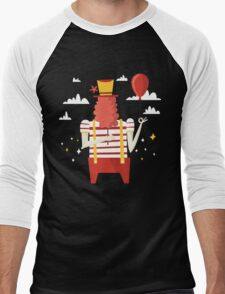 Life is a carnival Men's Baseball ¾ T-Shirt