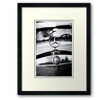 BenZ BW Framed Print