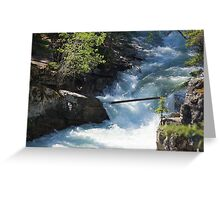 The Rush of the River 2 Greeting Card