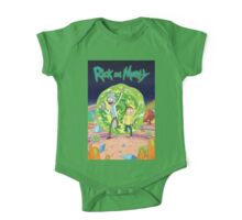 Rick and Morty One Piece - Short Sleeve