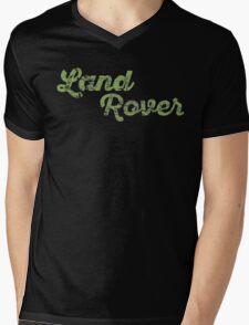Land Rover Mens V-Neck T-Shirt