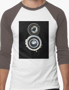 vintage photo camera Men's Baseball ¾ T-Shirt