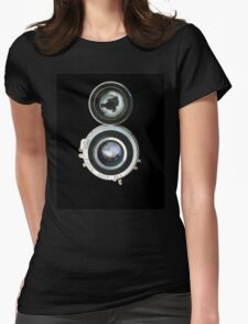 vintage photo camera Womens Fitted T-Shirt