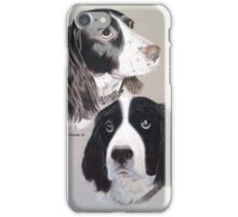 Daisy and Teddi the beautiful English Springer Spaniels  iPhone Case/Skin