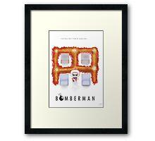 Bomberman Walk Away Framed Print