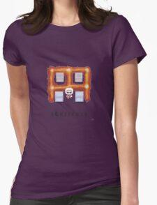 Bomberman Walk Away Womens Fitted T-Shirt