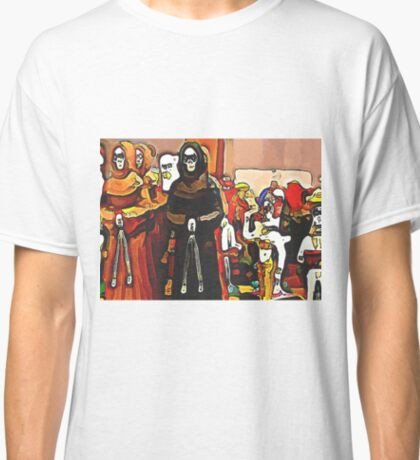 'Procession of the Dead' - Skeleton Ceremony Classic T-Shirt