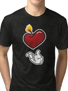 C'mon Baby Light My Fire Tri-blend T-Shirt
