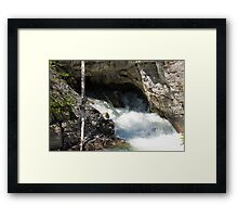 The Rush of the River 3 Framed Print