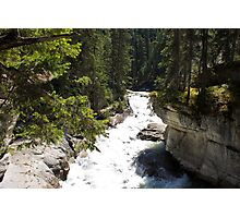 The Rush of the River 4 Photographic Print