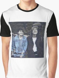 Kian & Jc blue Graphic T-Shirt