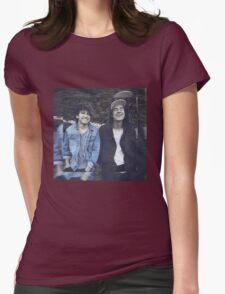 Kian & Jc blue Womens Fitted T-Shirt