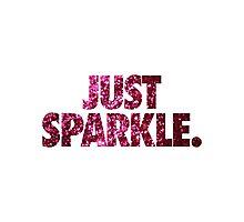 JUST SPARKLE. Photographic Print
