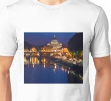 Saint Peter Cathedral in Rome Unisex T-Shirt