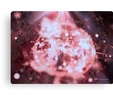 Pink Diamond In The Raw Canvas Print