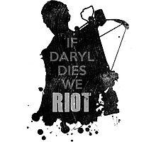 Daryl Dixon The Walking Dead Photographic Print