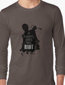 Daryl Dixon The Walking Dead Long Sleeve T-Shirt