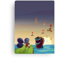 Balloon Trip Canvas Print