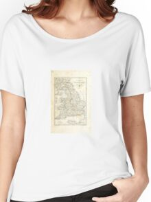 Vintage map Women's Relaxed Fit T-Shirt