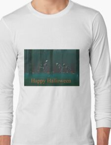 A Skeleton Halloween Long Sleeve T-Shirt