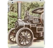 Burrell Steam Traction Engine iPad Case/Skin