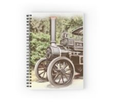 Burrell Steam Traction Engine Spiral Notebook