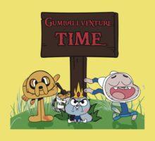 Gumballventure Time! One Piece - Short Sleeve