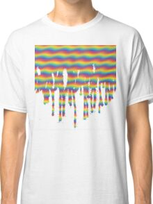 Psychedelic Paint Drip Classic T-Shirt