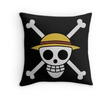 ONE PIECE - LUFFY FLAG  Throw Pillow