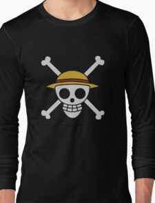 ONE PIECE - LUFFY FLAG  Long Sleeve T-Shirt