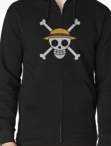 ONE PIECE - LUFFY FLAG  Zipped Hoodie