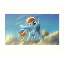 Rainbow Dash 2 - My Little Pony Art Print