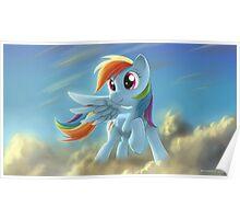 Rainbow Dash 2 - My Little Pony Poster