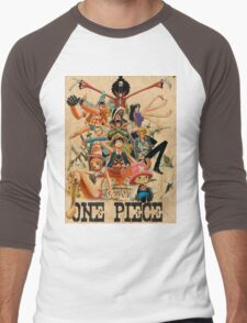 ONE PIECE - TEAM LUFFY (crewmate) Men's Baseball ¾ T-Shirt