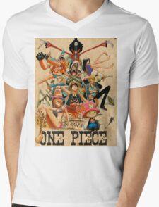 ONE PIECE - TEAM LUFFY (crewmate) Mens V-Neck T-Shirt
