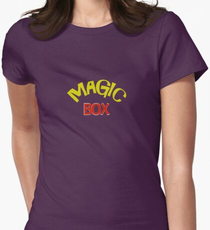 Magic Box - Buffy the Vampire Slayer Womens Fitted T-Shirt